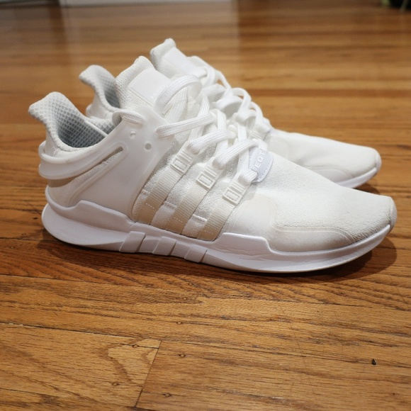 Adidas EQT Support ADV Triple White Men's sz 10.5